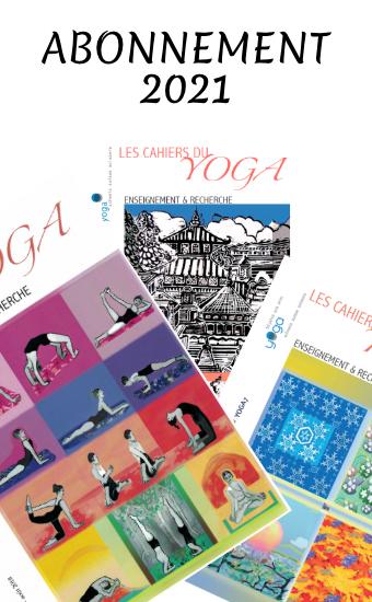Cahiers du Yoga - Abonnement 2021